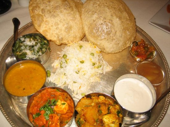 Vegetarian Thali Picture Of Dawat Haute Indian Cuisine New York City Tri
