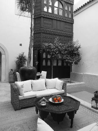 Riad Kheirredine: patio