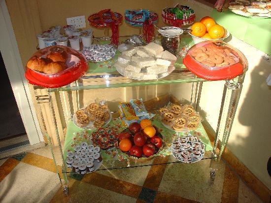 I Giardini del Quirinale: Breakfast