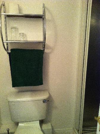 Parkway Guesthouse: small bathroom