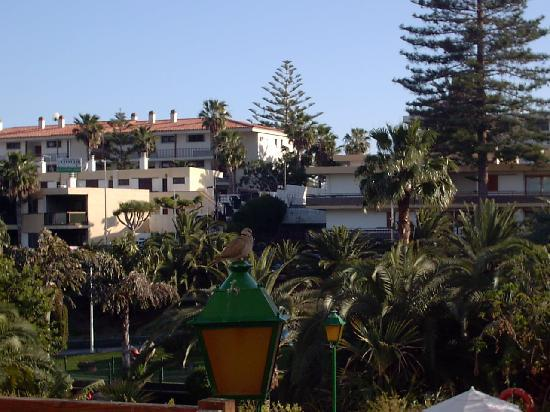 Hotel Folias: View of the park in the gorge from Folias