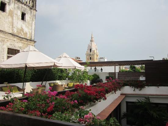 HOTEL LM: Rooftop terrace