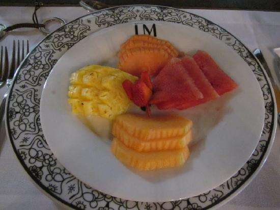 Hotel LM : A wonderful breakfast is served each morning