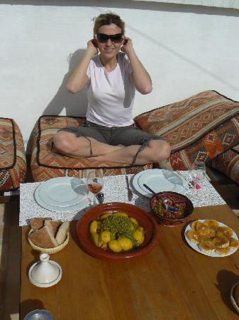 Dar Wabi : Dejeuner gourmand
