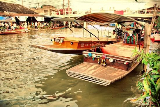 Amphawa, Thaïlande : local mode of transport