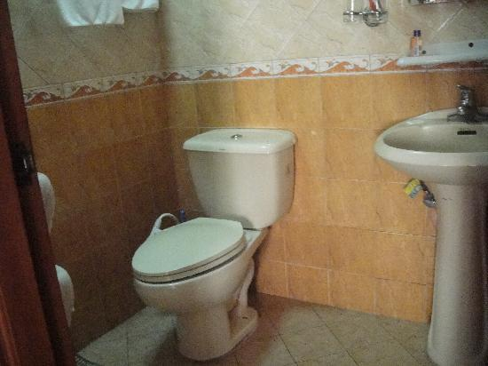 Hotel and Restaurant Swiss Chalet: Toilet