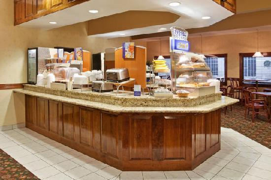 Holiday Inn Express Birch Run (Frankenmuth Area): Breakfast Area