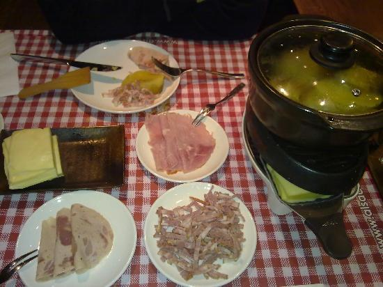 Alsace village Restaurant: Raclette
