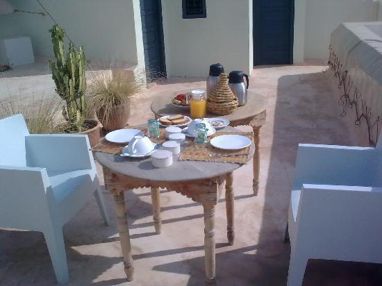 Riad Dar-K: breakfast