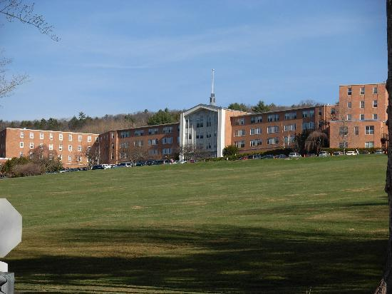 Kripalu Center for Yoga and Health : The main building