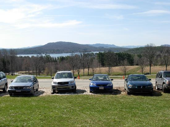 Kripalu Center for Yoga and Health: View from the main building