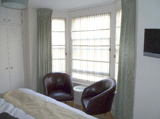 Whitburn Lodge: Front window - Room 3