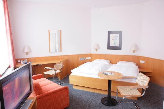 Hotel Berliner Hof: Doppelzimmer Kategorie Komfort