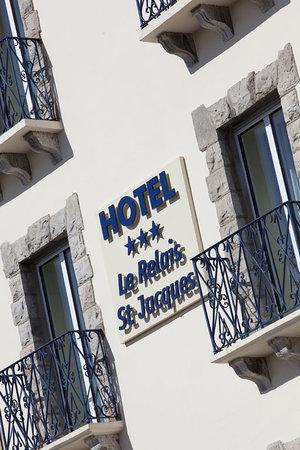Hotel Le Relais Saint Jacques : façade