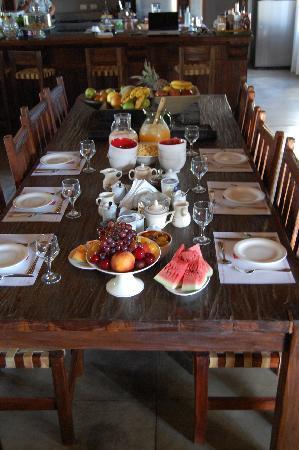 Casa Los Jazmines: Breakfast Ready !!!