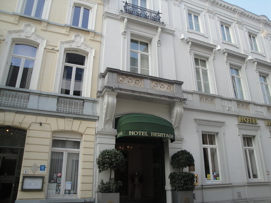 Hotel Heritage - Relais & Chateaux: hotel entrance