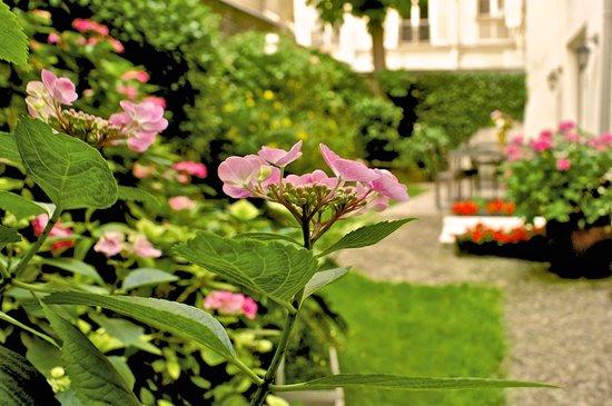 Logis Jardin De Villiers: garden