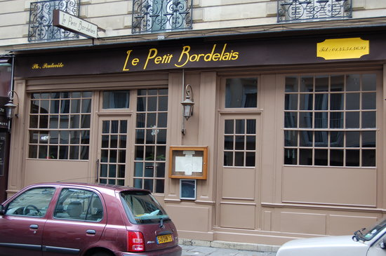 Le Petit Bordelais : Façade du restaurant