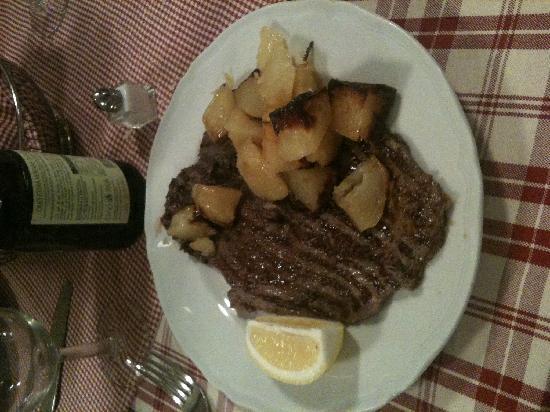 Osteria Giulietta e Romeo: Horse Steak