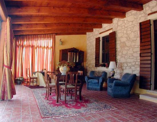 Villa Gesi: Sala