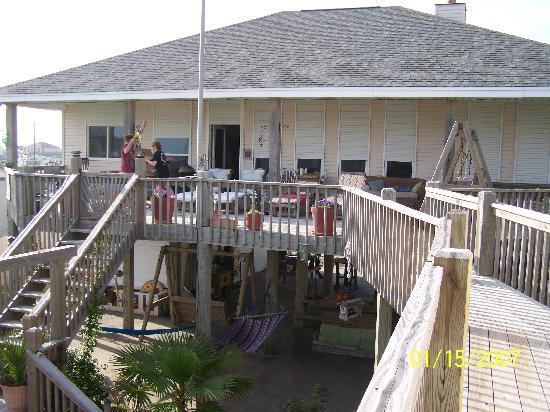 Crystal Beach, TX: main house