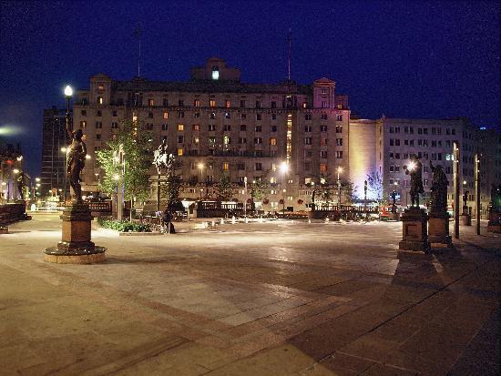 The Queens overlooking Leeds City Square