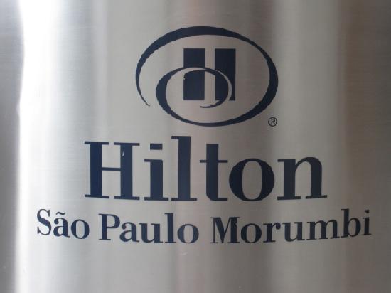 Hilton Sao Paulo Morumbi: Welcome Sign