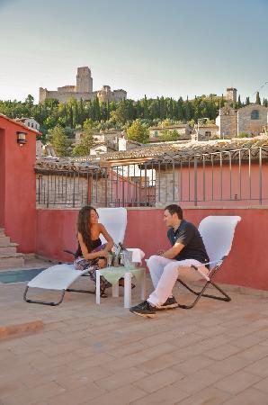 Hotel Alexander: vista terrazzo