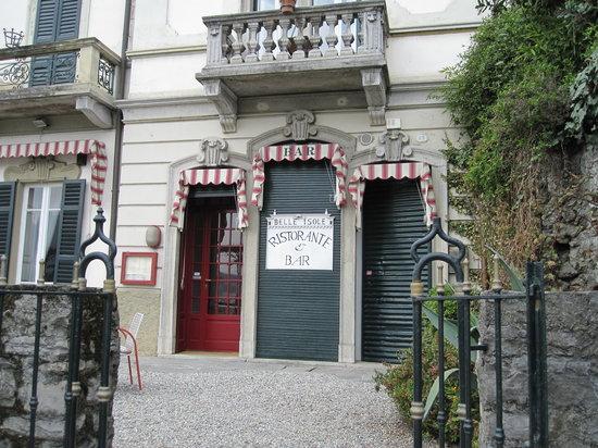 Ristorante Belle Isole: The restaurant exterior