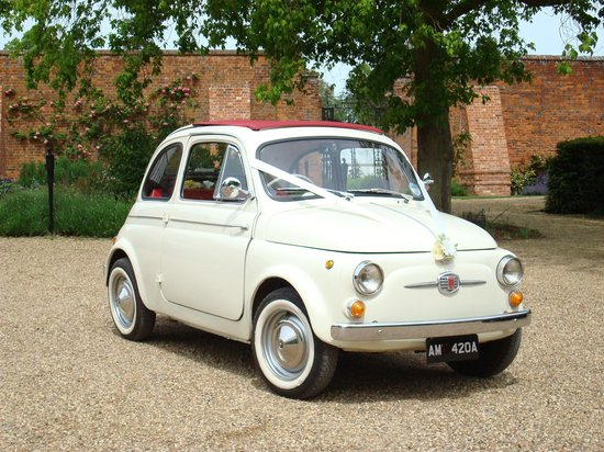 Classic Fiat 500 Hire - Day Tour