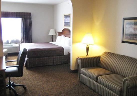 Quality Suites: Traditional King Suite