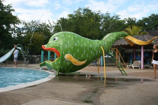 Dunes Hotel & Beach Resort: Slide at Kid's Pool