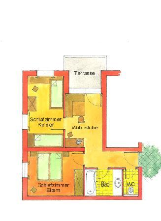 Plan Appartement Picture Of Gasthof Stuibenfall