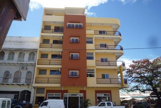 Hotel le Badamier : Facade de l'hôtel