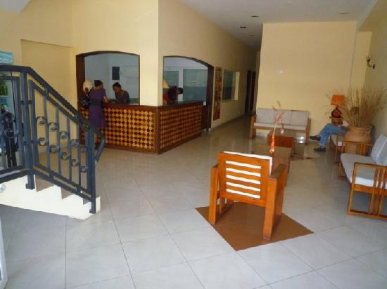 Hotel le Badamier : Reception