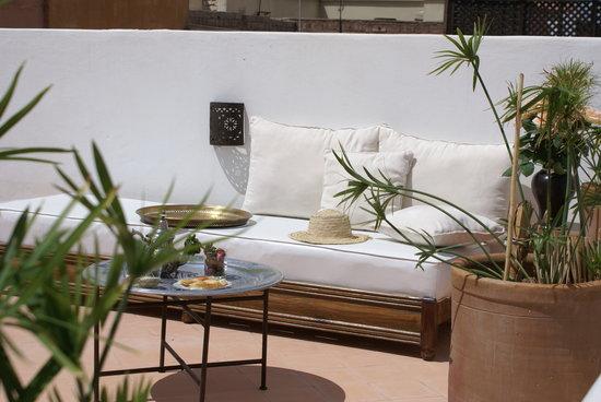 Riad les Orangers d'Alilia Marrakech: La terrasse, des instants inoubliables