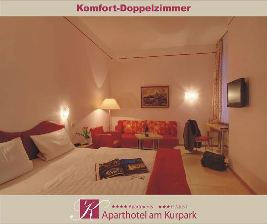 Aparthotel am Kurpark: Komfort-Doppelzimmer ***