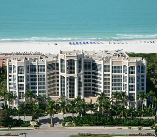 Marco Beach Ocean Resort: Resort Aerial