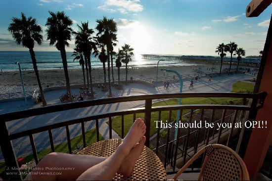 Ocean Park Inn: Beach life