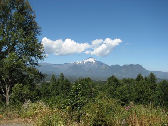 Mirador los Volcanes: Vista Volcan Villarrica