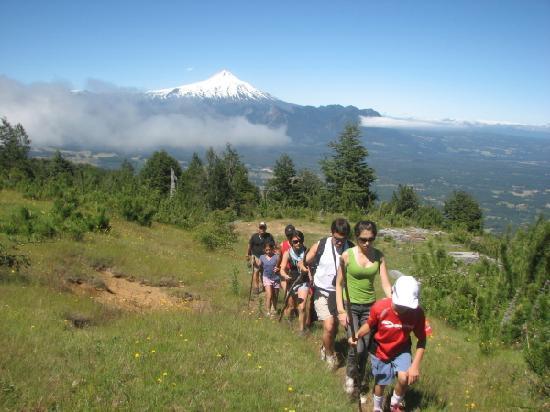 Mirador los Volcanes: Trakking Cerro La Barda
