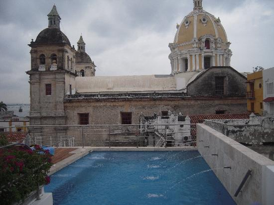 Casa Claver Loft Boutique Hotel : View from the Rooftop Pool