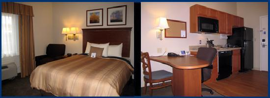 Candlewood Suites Longview: Studio Queen