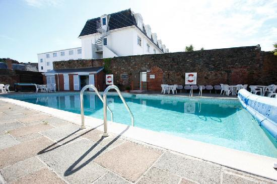 Heated Swimming Pool Picture Of The Norfolk Hotel St Helier Tripadvisor
