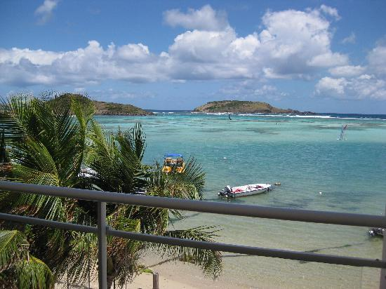 Grand Cul-de-Sac, Saint-Barthélemy : View of Grand Cul de Sac from our room
