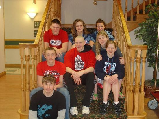 Country Inn & Suites By Carlson, Indianapolis South: Our fantastic kids at the hotel!