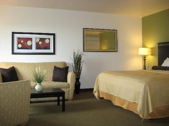 Quality Inn & Suites Denver International Airport: Non Smoking king suite