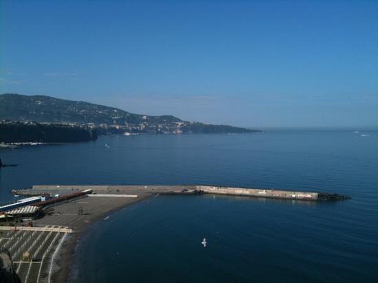 Villa Sorrento: spiaggia di meta