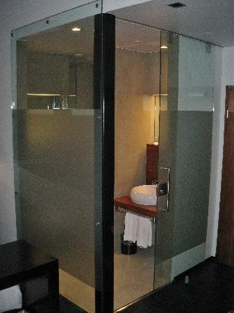 CenterHotel Thingholt : Not so private bathroom