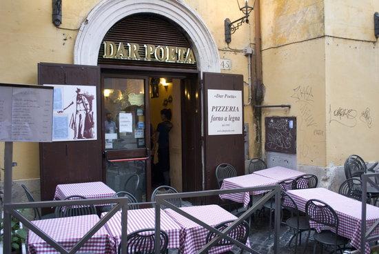 Photo of Italian Restaurant Dar Poeta at Vicolo Del Bologna 45, Rome 00153, Italy